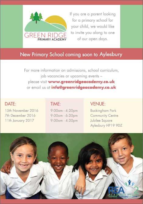 Green Ridge Primary Academy Flyer